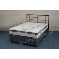 Majestic Gel 1000 4ft Small Double Divan Set