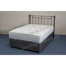Overton 2000 4ft Small Double Divan Set