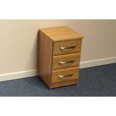 Gemini 3 Drawer Bedside Chest
