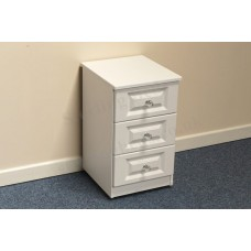 Taurus 3 Drawer Bedside Chest