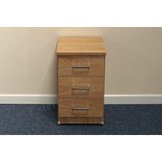 Leo 3 Drawer Bedside Chest
