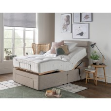 Natural 2150 Pocket Sprung 4ft Small Double Adjustable Bed