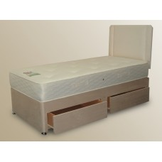 Durley 3ft 6in Large Single Divan Set