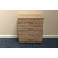 Leo 4 Drawer Wide Chest