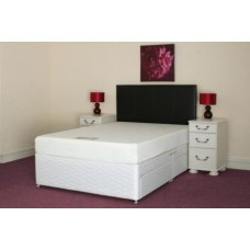 Iver 4ft 6in Double Divan Set