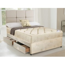 Topaz 4ft Small Double Divan Set