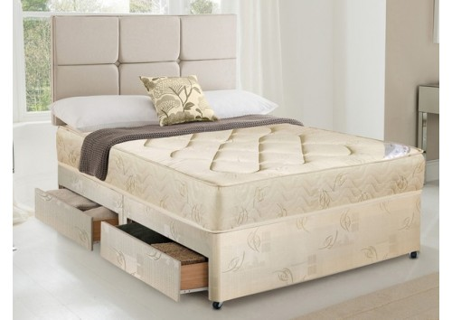 Romsey 4ft 6in Double Divan Set