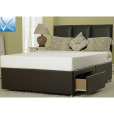 Denham 4ft 6in Double Divan Set