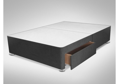 2 Drawer 4ft Small Double Divan Base