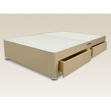 4 Drawer 4ft Small Double Divan Base