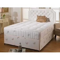 Marlow 1000 6ft Super King Zip & Link Divan Set