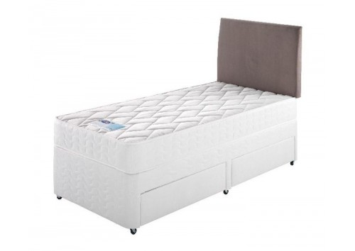 Silentnight Miracoil 3ft Single Divan Set