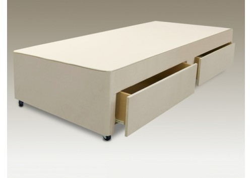 2 Drawer 3ft Single Divan Base