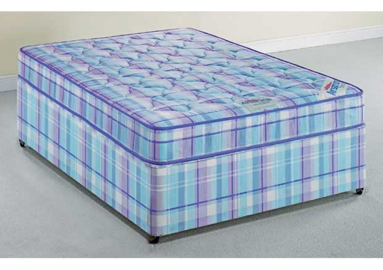 Paris 4ft small double divan set from sterling beds for Small double divan set